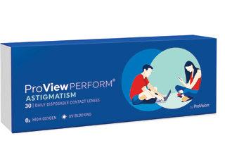 ProView Perform astigmatism contact lenses