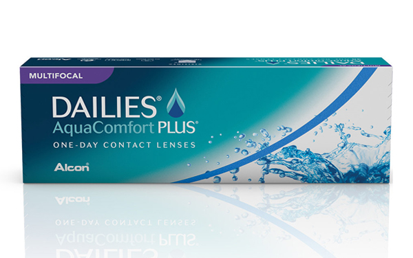 Dailies Aquacomfort PLUS multifocal contact lenses