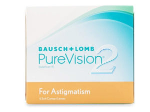 PureVision 2HD Astigmatism 12 Month Pack (Both Eyes)