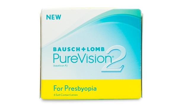 PureVision 2 presbyopia contact lenses