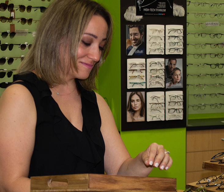 Optometrist Parramatta glasses shop