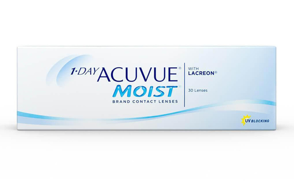 Acuvue Moist contact lenses